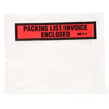 3M Packing List/Invoice Enclosed Envelopes